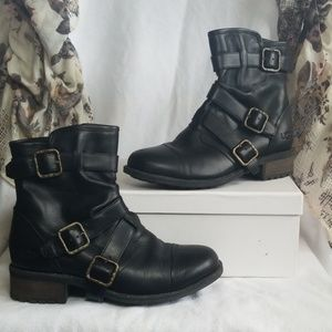 UGG Finney Moto Boots